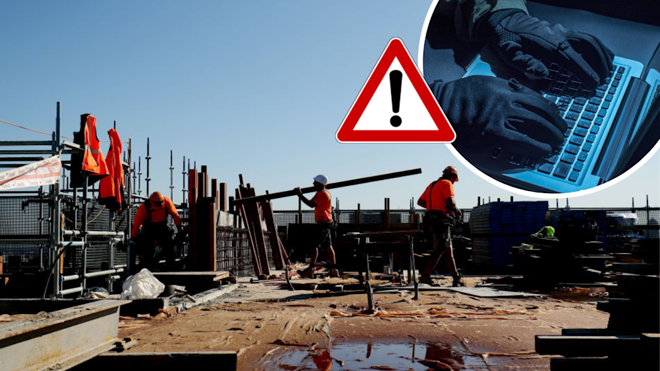 Aussie tradies are being targeted by this particular scam. (Source: Getty)