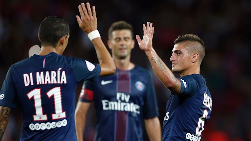 Di Maria Verratti Ligue 1 21082016