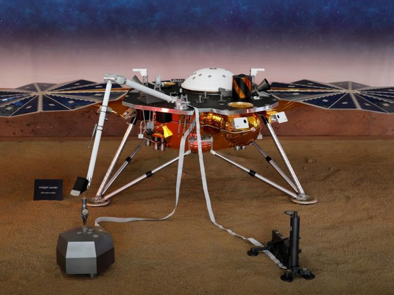 Nasa InSight lander detects first ever 'Marsquake' on Red Planet