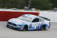 Kevin Harvick (4) drives during the NASCAR Cup Series auto race Sunday, May 17, 2020, in Darlington, S.C. (AP Photo/Brynn Anderson)