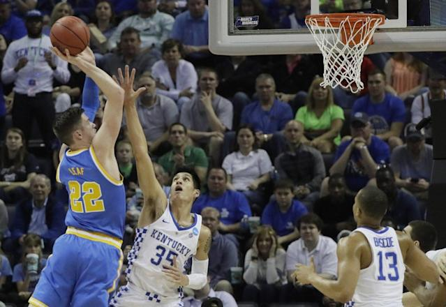 UCLA and Kentucky played a memorable Sweet 16 game Friday night. (AP)