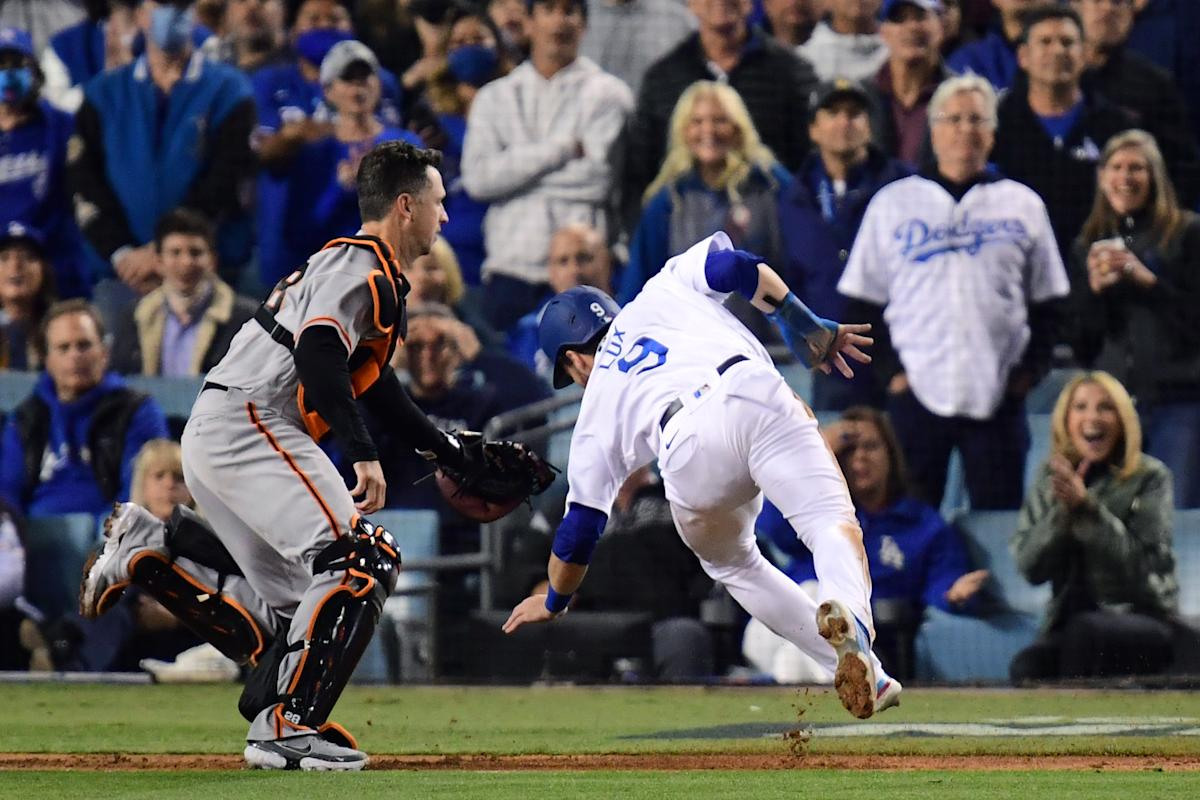 Game 5: 'If you have a pulse or you're a sports fan you better be watching Dodgers-Giants' – Yahoo Sports