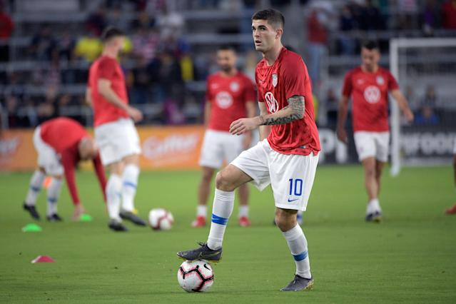 Depth is important at every spot, but the Americans' playmaking No. 10 role belongs to Christian Pulisic, plain and simple. (AP)