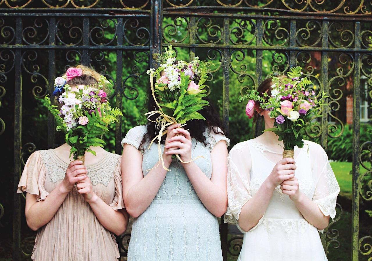 <p>According to predictions, weddings are set to become more intimate with brides choosing just two bridesmaids and one Maid of Honour for the ceremony. <em>[Photo: Getty]</em> </p>