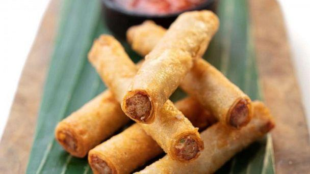 PHOTO: Leah Cohen's fried Lumpia Shanghai filled with beef and pork. (Dylan Kushel)