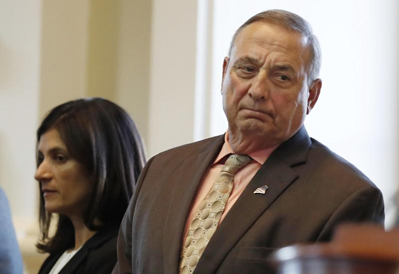 Paul LePage Has Some Thoughts About Jim Crow