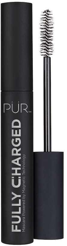 <p>The <span>Pur Cosmetics Fully Charged Mascara</span> ($22) has a conditioning formula infused with peptides. It contains a magnetic polymer that wraps an elastic cover on each lash, making them look huge.</p>