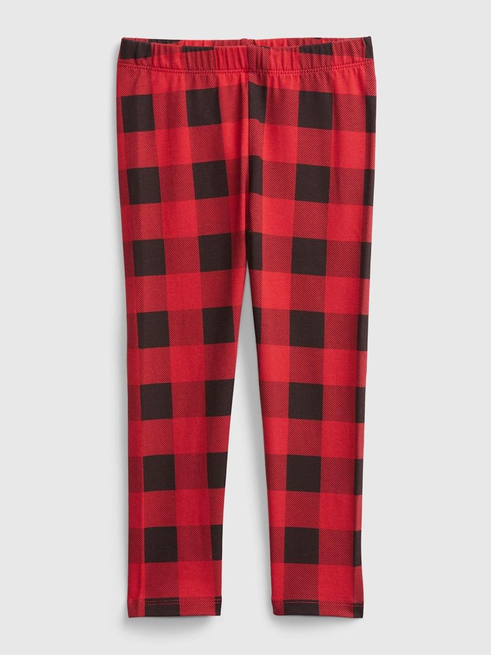 "<p>At home learning? At a little fun to the ""uniform"" with these <span>Gap Toddler Mix and Match Graphic Leggings</span> ($8)!</p>"