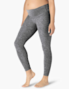 """""""Exceptionally soft"""" is the first thing that comes to mind with this legging. The Spacedye collection is one of Beyond Yoga's most popular lines because of how stretchy and velvety it is, making it perfect for a growing bump. $105, Beyond Yoga. <a href=""""https://beyondyoga.com/products/spacedye-love-the-bump-midi-maternity-legging-black-white-sd3392m"""" rel=""""nofollow noopener"""" target=""""_blank"""" data-ylk=""""slk:Get it now!"""" class=""""link rapid-noclick-resp"""">Get it now!</a>"""