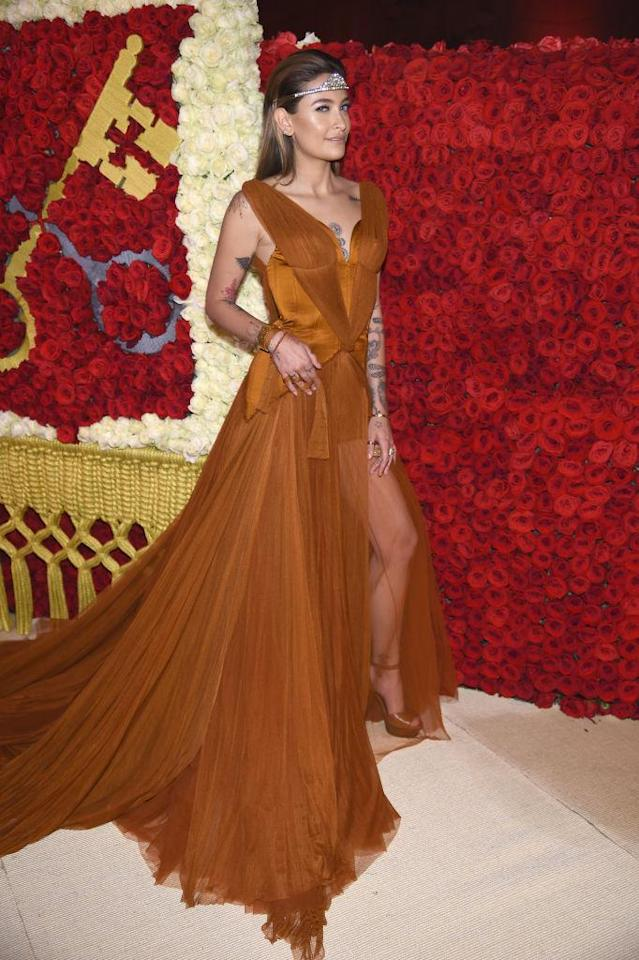 <p>Jackson looked Game of Thrones ready in Stella McCartney. (Photo: Getty Images) </p>