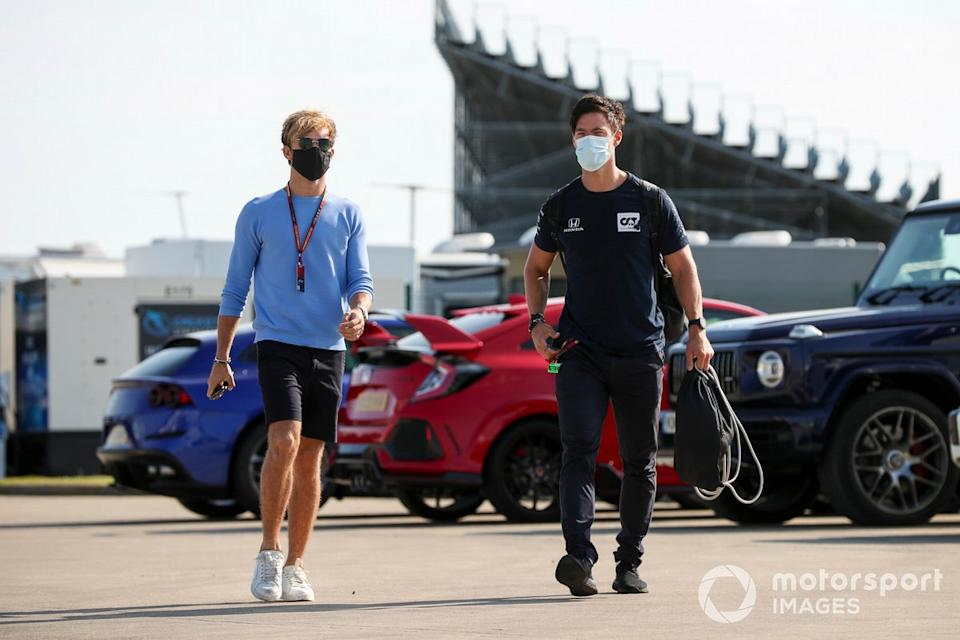 """Pierre Gasly, AlphaTauri <span class=""""copyright"""">Charles Coates / Motorsport Images</span>"""