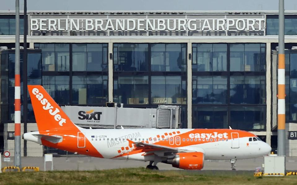 EasyJet said Europe 'is demonstrating that a safe reopening of travel is possible' - Getty