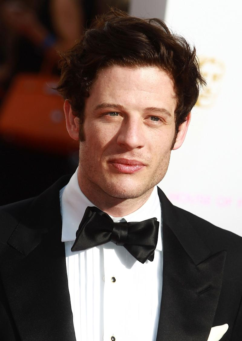 LONDON, ENGLAND - MAY 10: James Norton attends the House of Fraser British Academy Television Awards 2015 Theatre Royal on May 10, 2015 in London, England. (Photo by Fred Duval/FilmMagic)