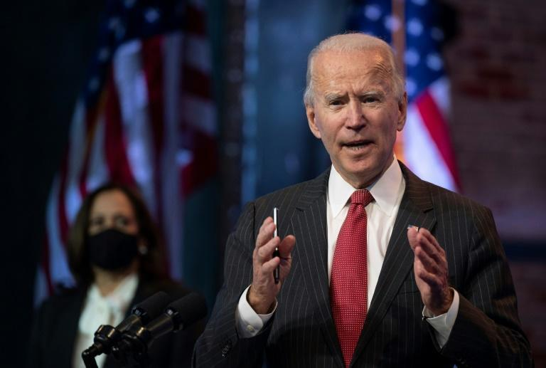 Joe Biden has pushed ahead with preparations to assume the presidency on January 20, regardless of Donald Trump's bid to undo the results