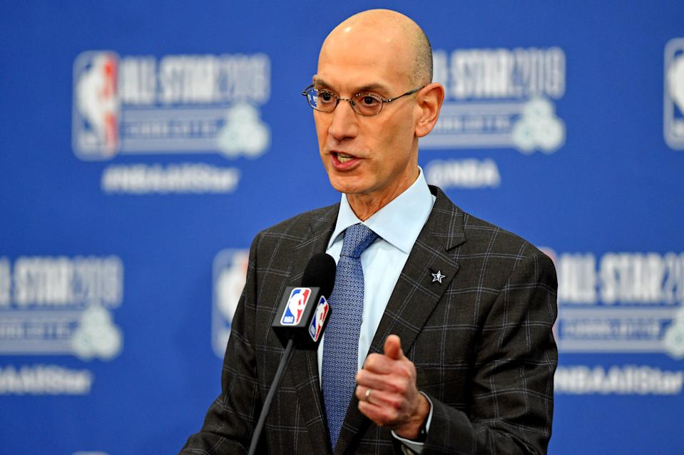 Fixing tampering is easy. Addressing trade demands will prove a difficult task for Adam Silver. (Reuters)