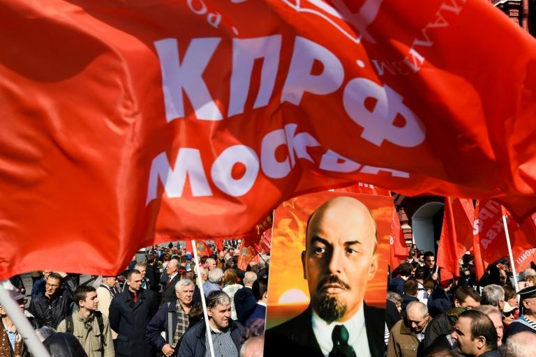 Russian revolutionary leader Lenin died in 1924 (AFP Photo/Kirill KUDRYAVTSEV)
