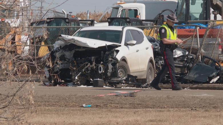 'Completely avoidable': Police say speed a factor in fatal 3-vehicle collision