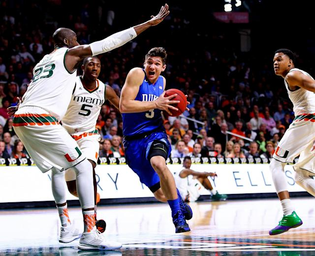 <p>The Blue Devils junior never lacks for attention, but this March could provide another outlet for Allen to make headlines. Allen's numbers are down across the board from his standout sophomore campaign, but he can restore faith with a strong showing over several games in the tournament, as he can now do for Frank Jackson and Jayson Tatum what Quinn Cook did for rookies like him during the 2015 national title campaign. </p>