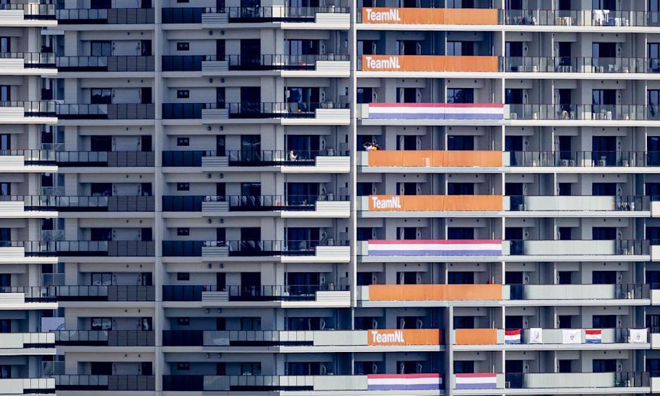 Tokyo's Olympic Village: the big prize for men's footballers.