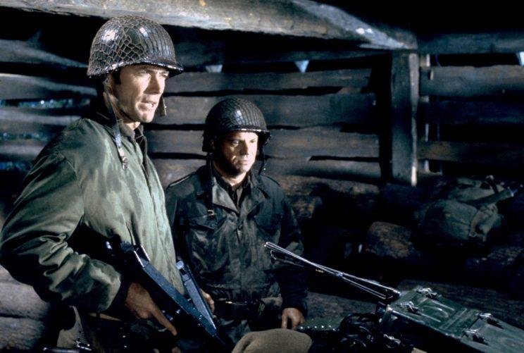 Clint Eastwood and Don RIckles in Kelly's Heroes.