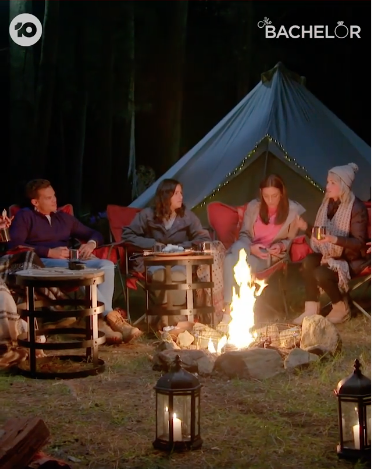 The Bachelor camping trip