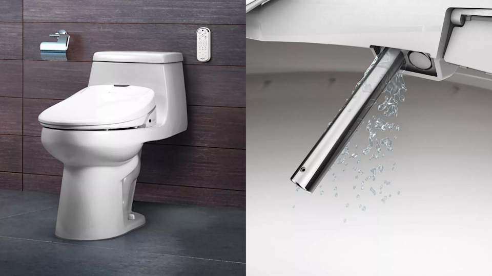 A bidet could be a game-changer for your bum.