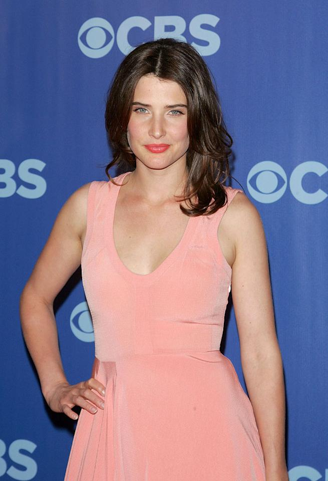"<a href=""/cobie-smulders/contributor/959897"">Cobie Smulders</a> (""[ytv show id=38167]How I Met Your Mother[/ytvshow]"") attends the 2010 CBS Upfront at The Tent at Lincoln Center on May 19, 2010 in New York City."