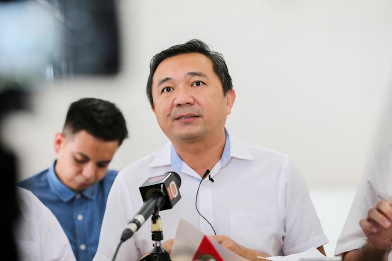 Selangor exco Ng Sze Han says the government will set five conditions on the federal government if the latter proceeds with the East Coast Rail Link currently in limbo. — Picture by Ahmad Zamzahuri