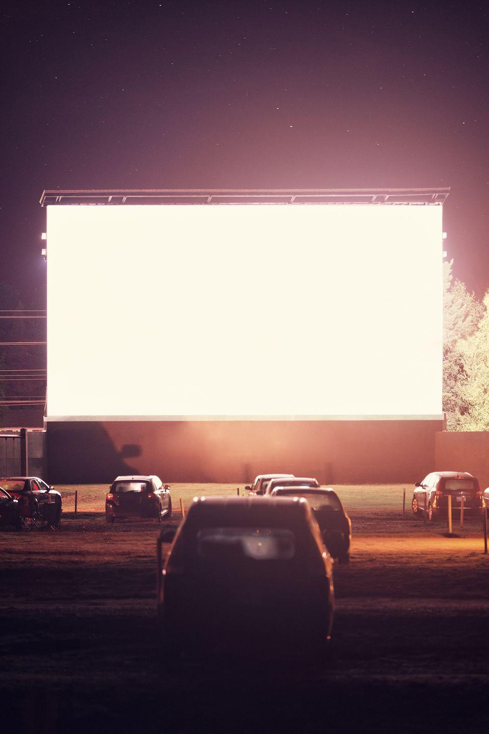 <p>Skip your local movie palace and go retro with an outdoor theater experience. </p>