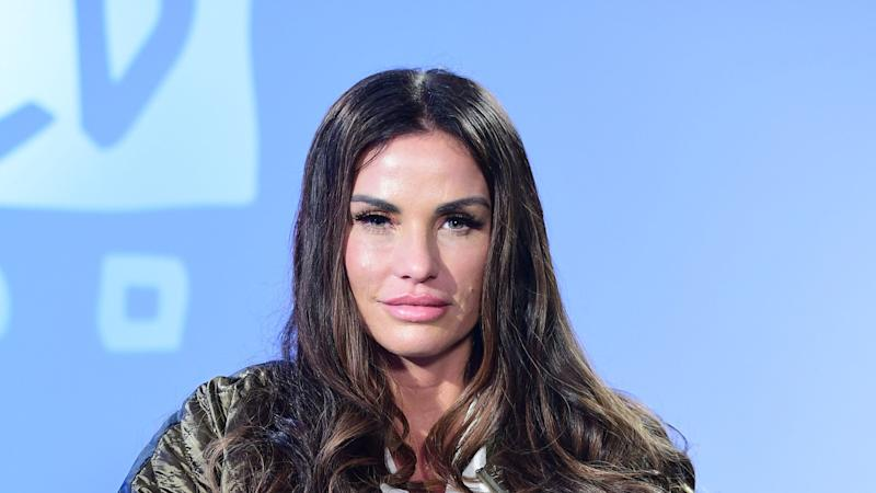 Katie Price says she won't be able to walk for three to six months