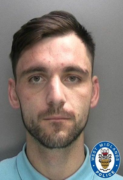 Wayne Bradley, 30, stole from several hospitals and care homes at the height of the coronavirus pandemic (West Midlands Police)