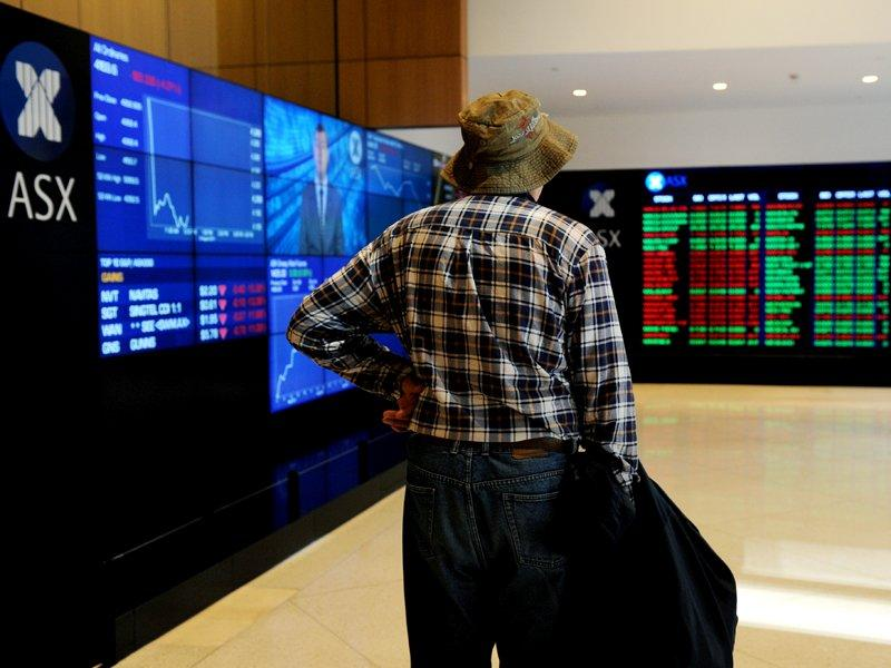 Aust shares open higher