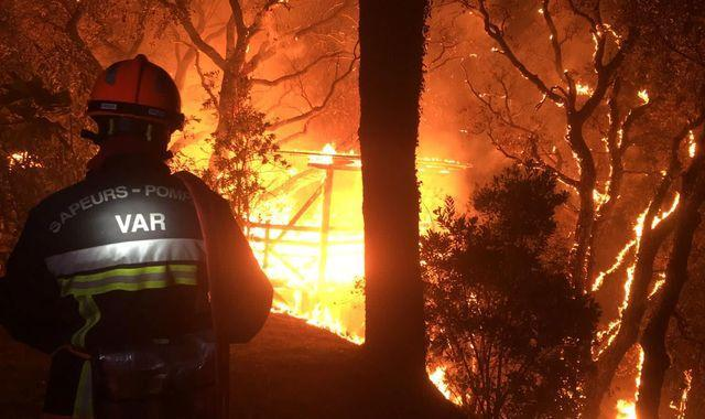 Thousands Evacuated from Wildfire Near Riviera France: School Megamart 2021