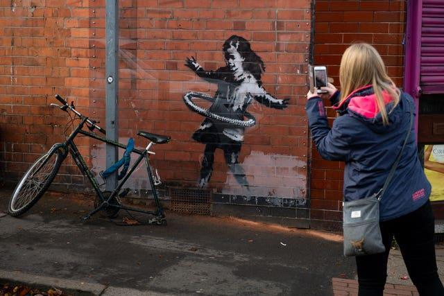 Banksy in Nottingham