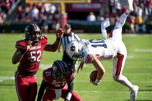 South Carolina Beats Auburn For First Time In 87 Years