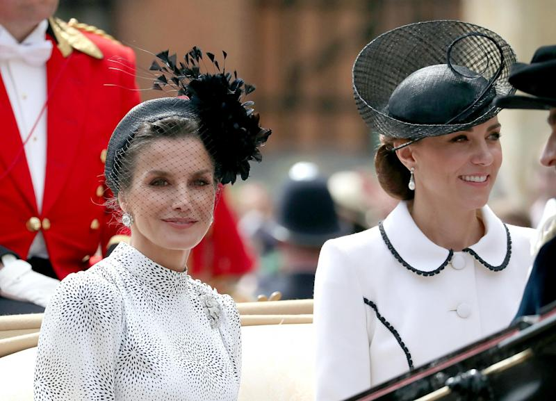 Queen Letizia and Kate Middleton (Getty Images)