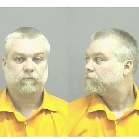 Undated file booking photo of Steven Avery