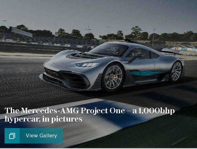 The Mercedes-AMG Project One – a 1,000bhp hypercar, in pictures