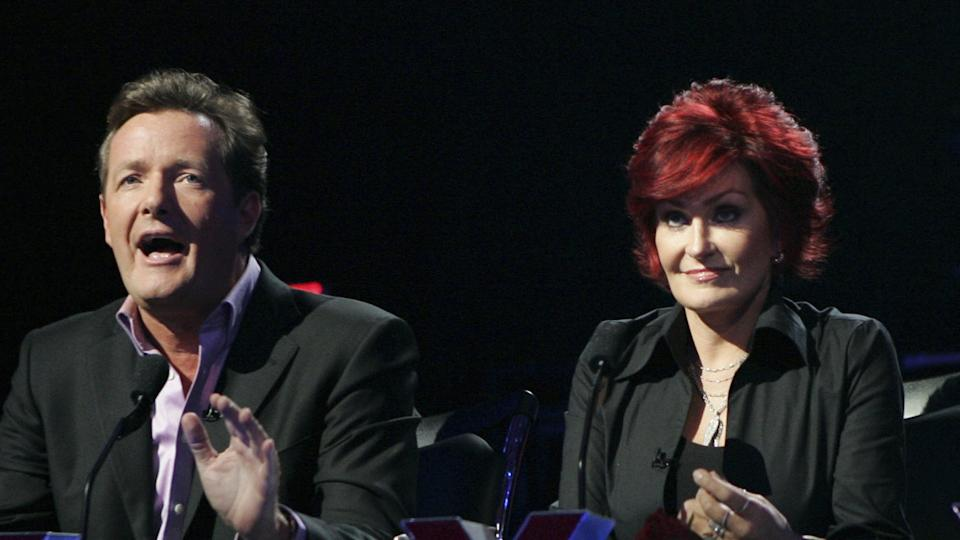 Piers Morgan and Sharon Osbourne on America's Got Talent (Trae Patton/NBCU Photo Bank)