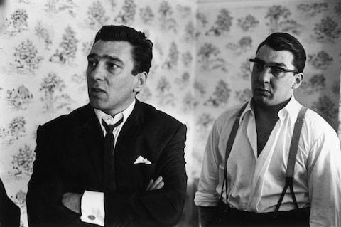 Reggie (left) and Ronnie Kray - Credit: GETTY