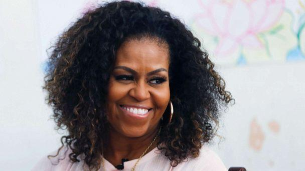 PHOTO: Former first lady Michelle Obama attends the Girls Opportunity Alliance program with Room to Read at the Can Giuoc Highschool in Long An province, Vietnam, Dec. 9, 2019. (Yen Duong/Reuters, FILE)