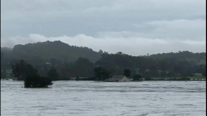 Evacuations ordered as Sydney's biggest dam overflows after record rainfall