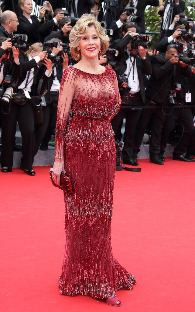 The actress first wore the dress at the 67th Cannes Film Festival [Photo: Getty]