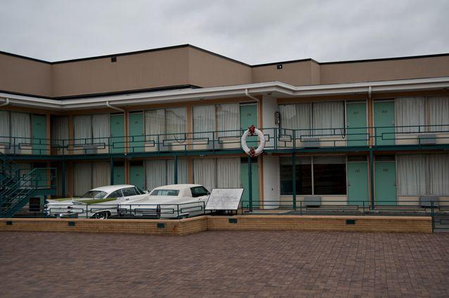 The Lorainne Motel in Memphis, Tennessee, where civil rights leader Martin Luther King Jr was assassinated. Source: Flickr