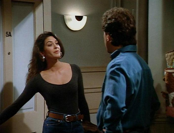 """""""The Implant"""" - Jerry dumps a girlfriend because she has breast implants."""