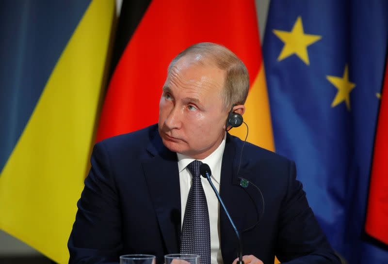 Putin warns of second Srebrenica if no amnesty for east Ukraine