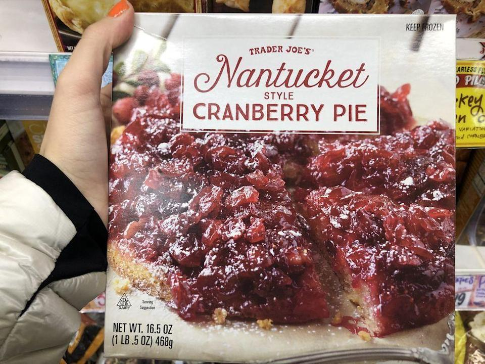 <p>Have you ever had cranberry pie? Maybe not! What a conversation starter.</p>