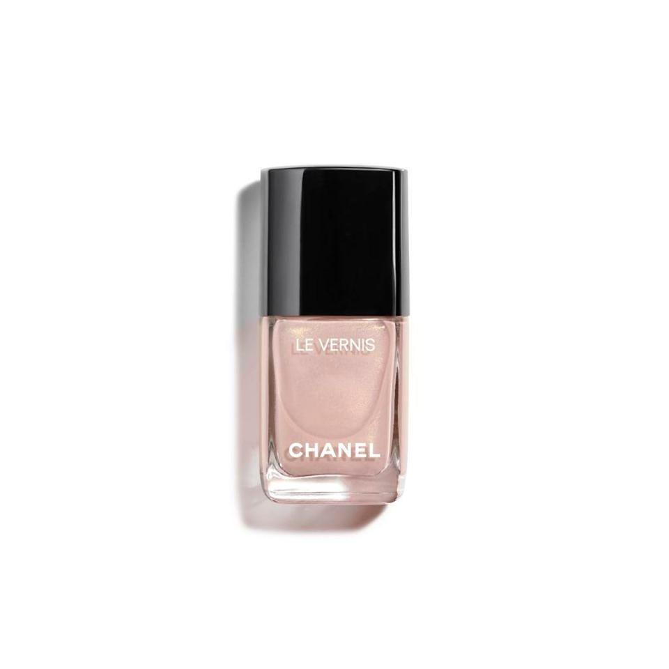 "<h3>Chanel Ballerina </h3><br>The nail-polish equivalent to a Chanel quilted purse you bought on consignment, consider this the investment polish you'll wear forever. ""Chanel's Ballerina polish is a classic, both in shade and label,"" says nail pro <a href=""https://www.instagram.com/naominailsnyc/"" rel=""nofollow noopener"" target=""_blank"" data-ylk=""slk:Naomi Yasuda"" class=""link rapid-noclick-resp"">Naomi Yasuda</a>. ""It is the perfect barely-there pink, for an everyday, natural look.""<br><br><strong>Chanel</strong> Longwear Nail Colour in Ballerina 167, $, available at <a href=""https://go.skimresources.com/?id=30283X879131&url=https%3A%2F%2Fwww.chanel.com%2Fus%2Fmakeup%2Fp%2F159010%2Fle-vernis-longwear-nail-colour%2F%3Fgclid%3DEAIaIQobChMIxs3x-PiB4AIVA1uGCh0HZwzsEAkYASABEgLcYPD_BwE"" rel=""nofollow noopener"" target=""_blank"" data-ylk=""slk:Chanel"" class=""link rapid-noclick-resp"">Chanel</a>"