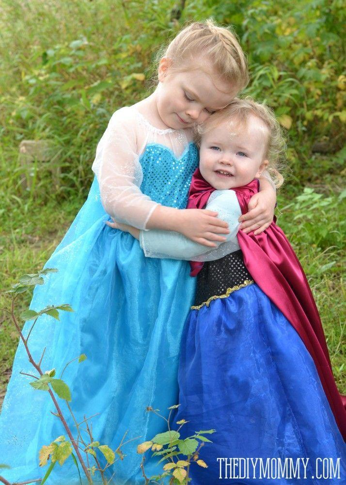 """<p>Forget building a snowman—we want to learn to sew these adorable <a href=""""https://www.countryliving.com/diy-crafts/g21285858/diy-disney-halloween-costumes/"""" rel=""""nofollow noopener"""" target=""""_blank"""" data-ylk=""""slk:Disney-inspired"""" class=""""link rapid-noclick-resp"""">Disney-inspired</a> sister dresses! </p><p><strong>Get the tutorial at <a href=""""http://thediymommy.com/sew-an-elsa-inspired-frozen-snow-princess-dress/"""" rel=""""nofollow noopener"""" target=""""_blank"""" data-ylk=""""slk:The DIY Mommy"""" class=""""link rapid-noclick-resp"""">The DIY Mommy</a>.</strong></p><p><strong><a class=""""link rapid-noclick-resp"""" href=""""https://www.amazon.com/Turquoise-Sparkle-Fabric-Costumes-Tablecloth/dp/B078N5DZHJ/?tag=syn-yahoo-20&ascsubtag=%5Bartid%7C10050.g.21530121%5Bsrc%7Cyahoo-us"""" rel=""""nofollow noopener"""" target=""""_blank"""" data-ylk=""""slk:SHOP SEQUIN FABRIC"""">SHOP SEQUIN FABRIC</a></strong></p>"""