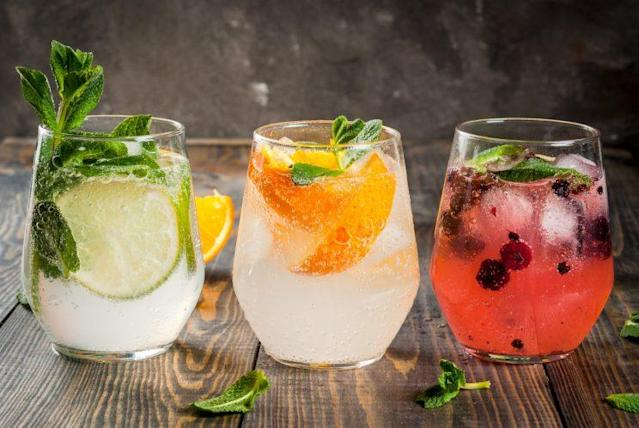 Gin-based drinks could reduce the risk of allergies [Photo: Getty]